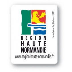 plaque inviolable personnalisee logo region normandie