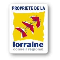 custom strong tamper proof asset tag lorraine conseil general logo en