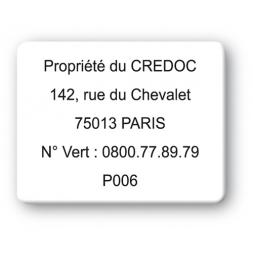 custom strong tamper proof asset tag credoc property reference en