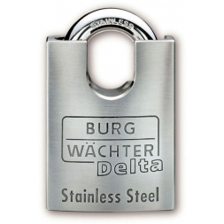 delta stainless steel high security padlock