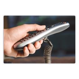 cable antivol fixe sur la telecommande