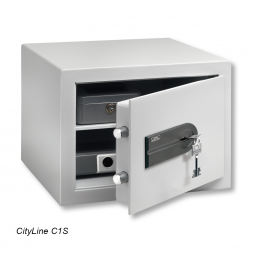 cityline personal safe opened with keys en