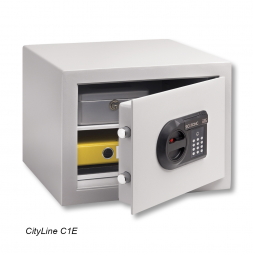 opened cityline personal safe with code en