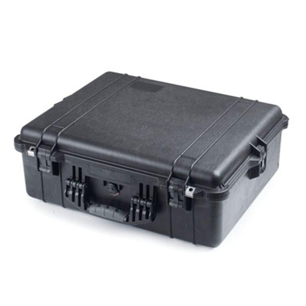 valise de protection amenagee noire fermee