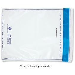 Enveloppe sécurisée indéchirable anti-fraude VOID standard