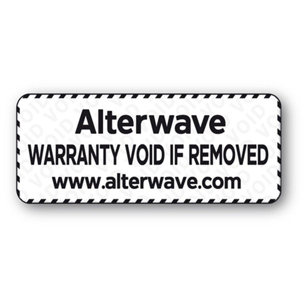 Etiquette anti-fraude polyester VOID impression noire