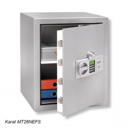 grey karat armored personal safe en