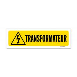 """Panneau indication """"transformateur"""""""