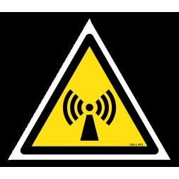 Panneau danger picto radiations non ionisantes