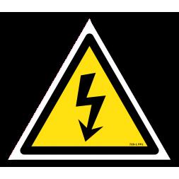Panneau danger picto danger électrique