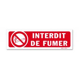 """Panneau interdiction picto """"interdit de fumer"""""""