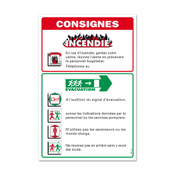 """Consigne hôpitaux """"consigne couloir"""""""