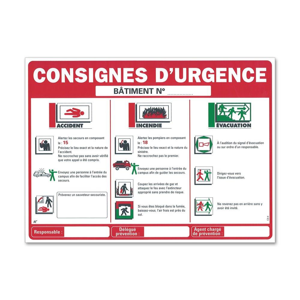 "Consigne scolaire ""consigne d'urgence"""