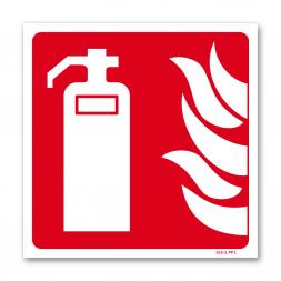 Panneau lutte incendie picto extincteur