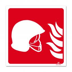 Panneau lutte incendie picto équipement contre l'incendie flamme