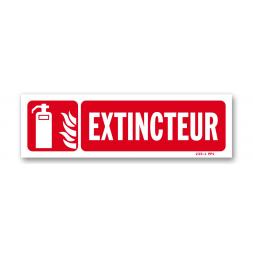 """Panneau lutte incendie """"extincteur"""""""