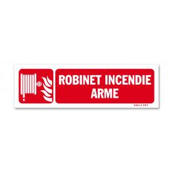 """Panneau lutte incendie picto + """"RIA"""""""