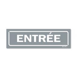 """Panneau identification locaux """"entrée"""""""