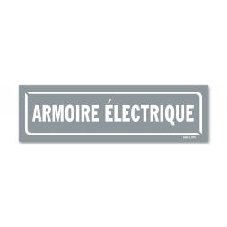 """Panneau identification locaux """"armoire électrique"""""""