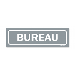 "Panneau identification locaux ""bureau"""