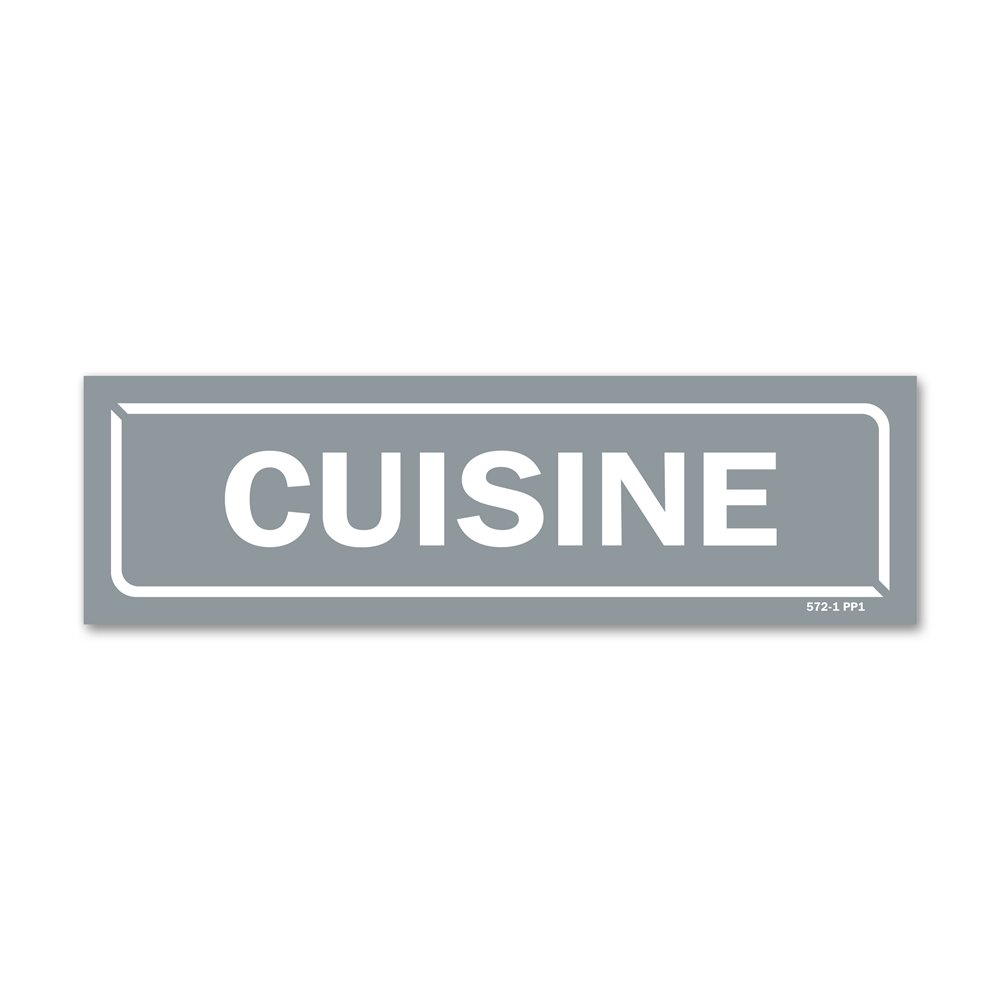 "Panneau identification locaux ""cuisine"""