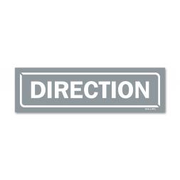 """Panneau identification locaux """"direction"""""""