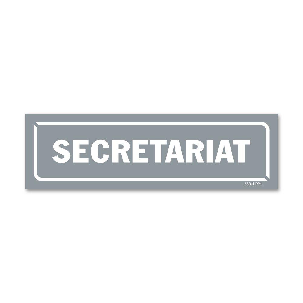 """Panneau identification locaux """"secretariat"""""""