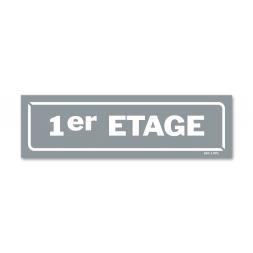 """Panneau identification locaux """"1er etage"""""""