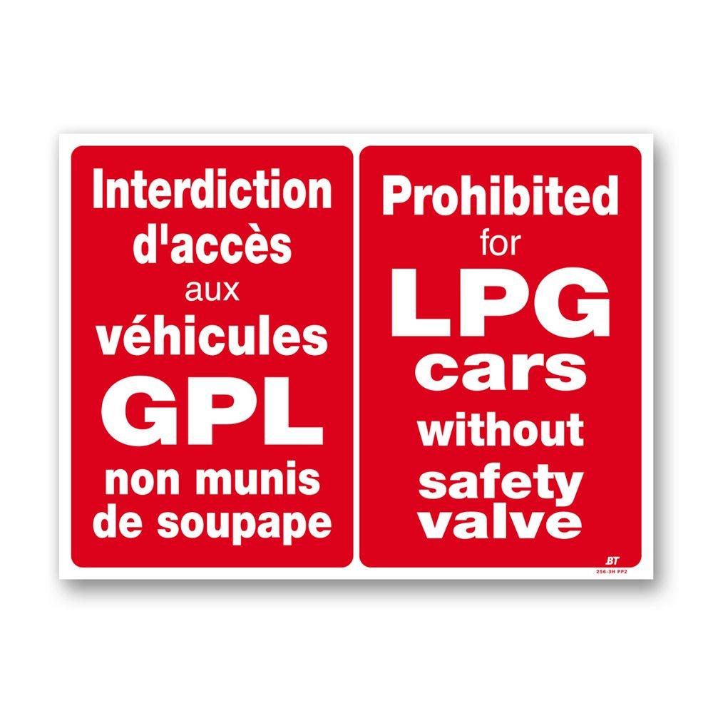 "Panneau signalisation ""véhicules gpl interdiction"""