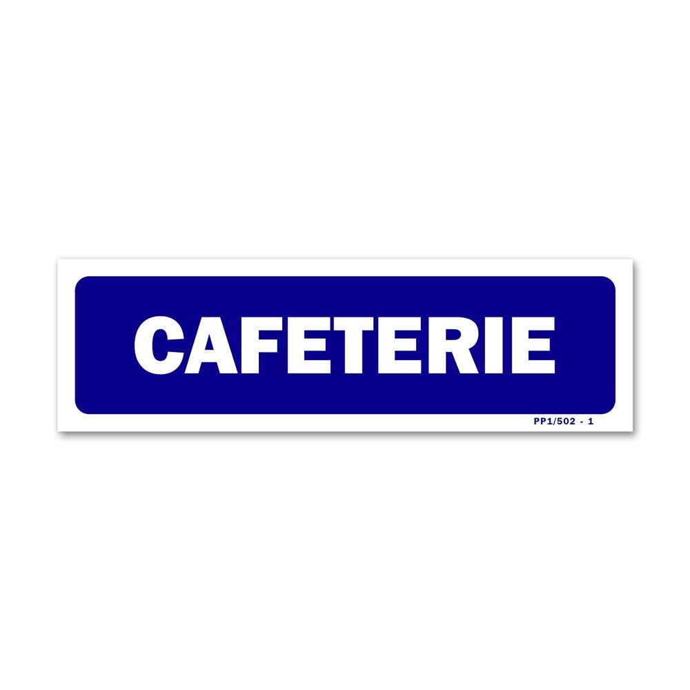"""Panneau signalisation """"cafeterie"""""""