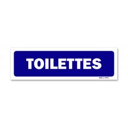 """Panneau signalisation """"toilettes"""""""