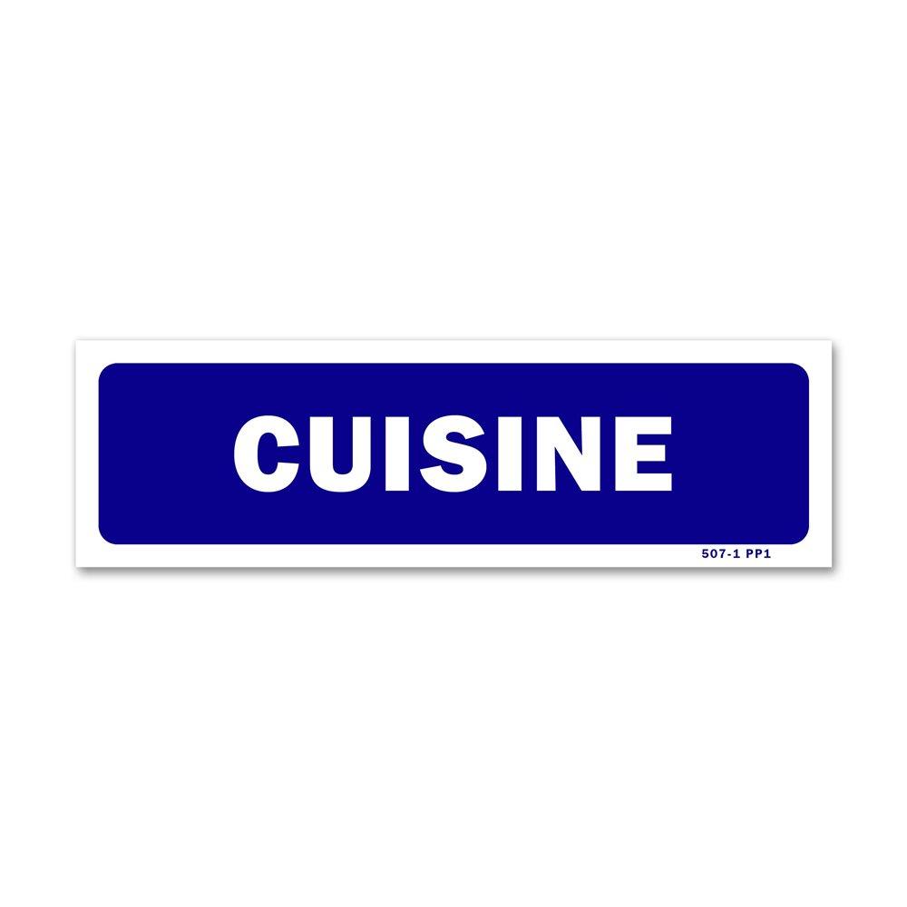 """Panneau signalisation """"cuisine"""""""