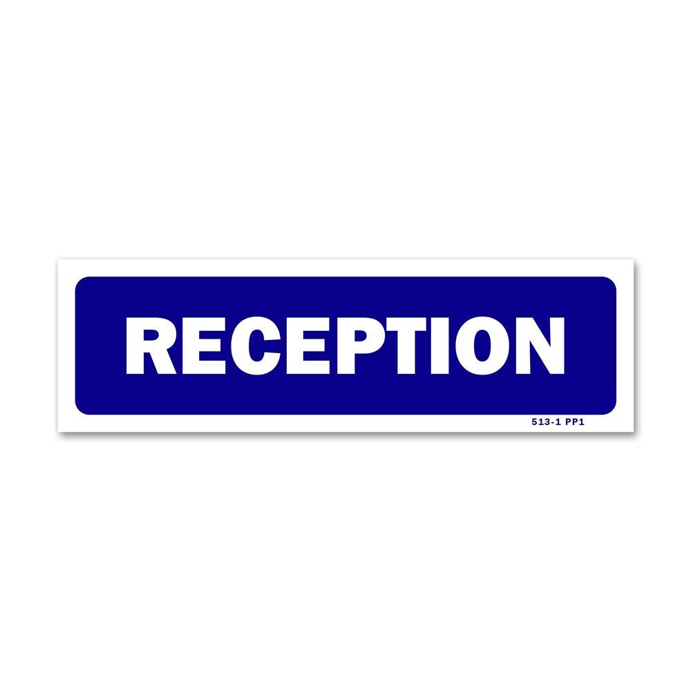 """Panneau signalisation """"réception"""""""