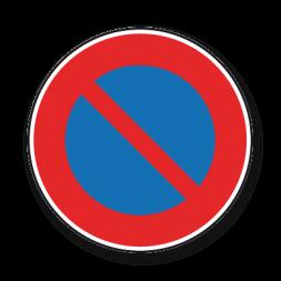 Panneau signalisation picto ne pas stationner