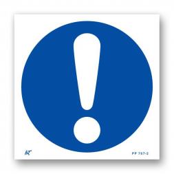 Panneau signalisation picto obligations générales