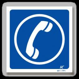 Panneau signalisation picto téléphone