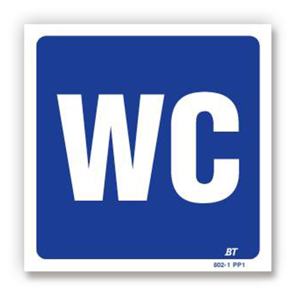 Panneau signalisation picto wc