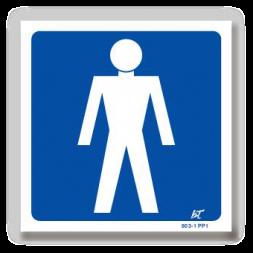 Panneau signalisation picto homme
