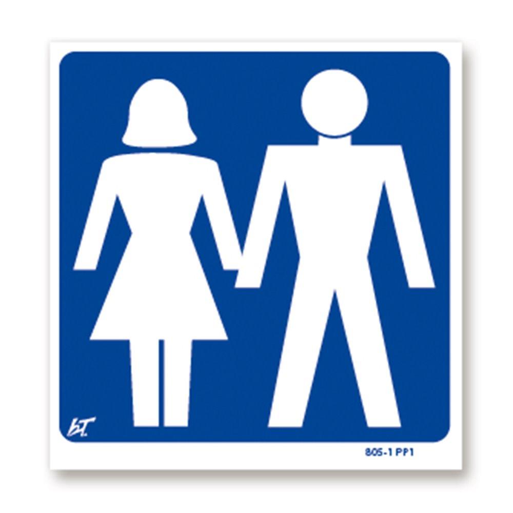 Panneau signalisation picto femme | homme