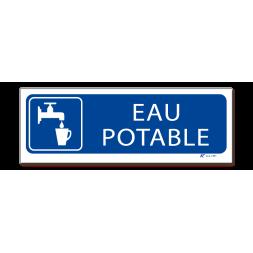 """Panneau signalisation picto """"eau potable"""""""