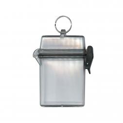 Boitier étanche transparent avec anneau