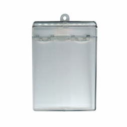 boitier porte pieces d identite transparent
