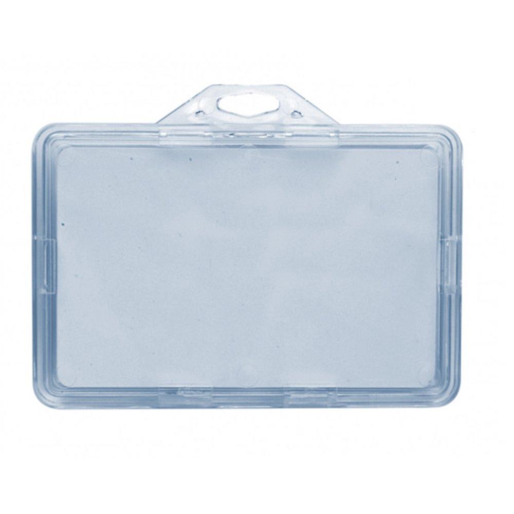 horizontal ultra safe badge holder en