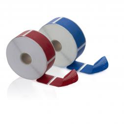 deux scelles adhesives anti fraude zero transfert