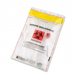 Biohazard Tamper Proof Envelope.