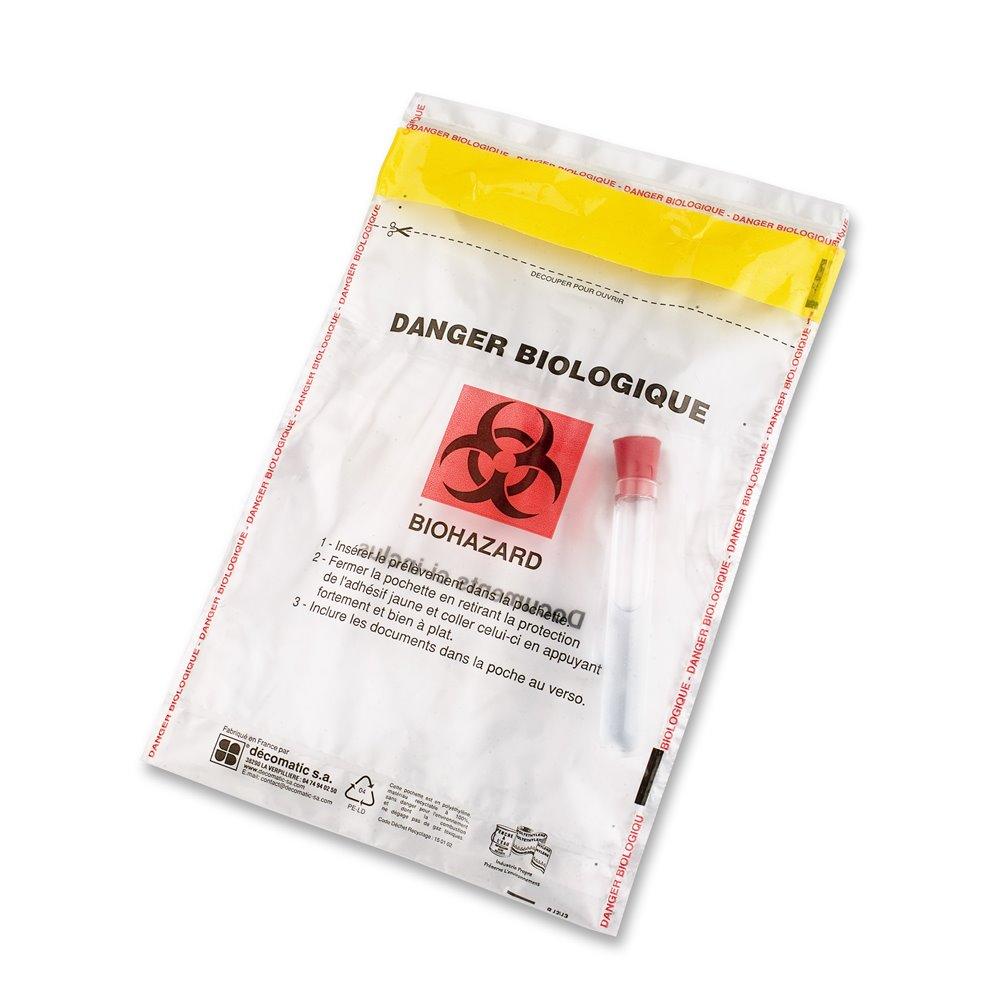 biohazard tamper proof envelope.