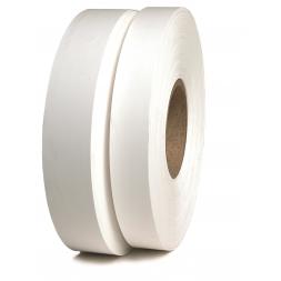 Rouleau d'étiquettes nylon non-adhésives pour textiles TTh