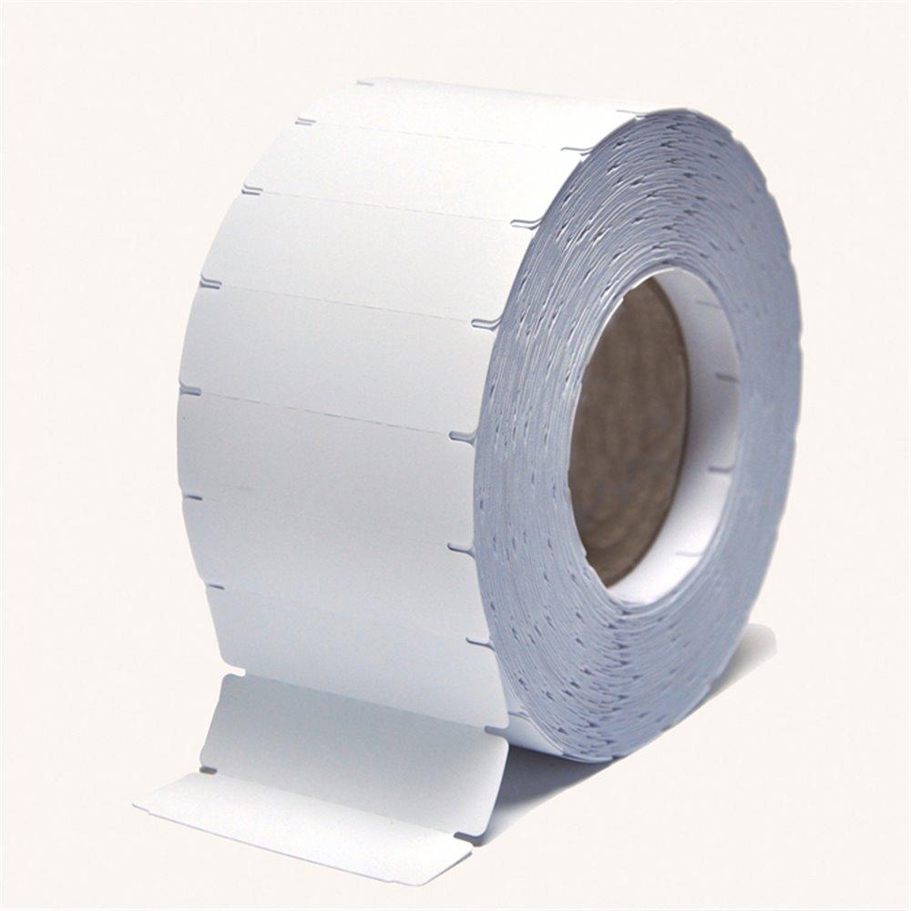 Rouleau de 3000 étiquette textile vierge thermocollante TTh