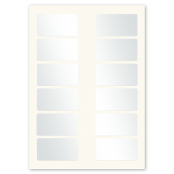 twelve labels per sheet a4 format en