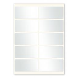 ten labels per sheet a4 format en